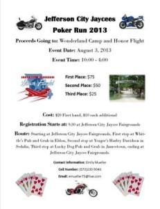 Honor Flight poker run
